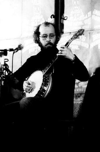 Dónal Maguire, banjo, 1977 / Joe Dowdall