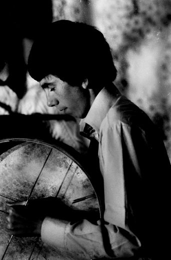 Unidentified, bodhran, 1977 / Joe Dowdall