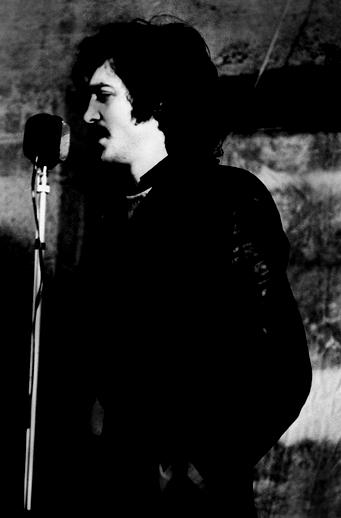 Sean Corcoran, singer, festival director, 1977 / Joe Dowdall