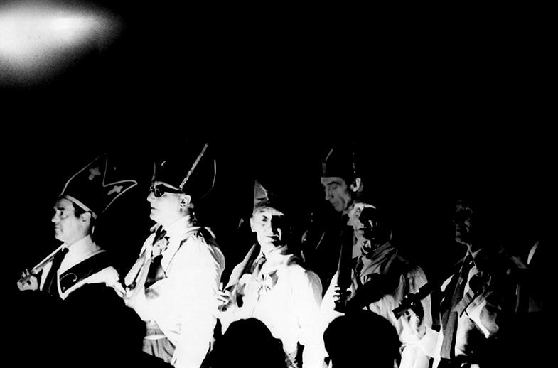 Wexford Mummers, dancers, 1977 / Joe Dowdall