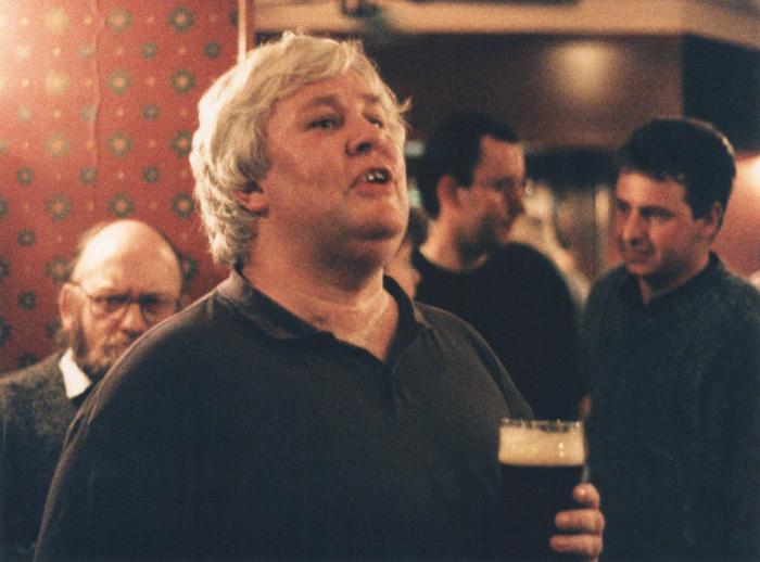 Brian Mullen, singer, 1997 / Ken Garland