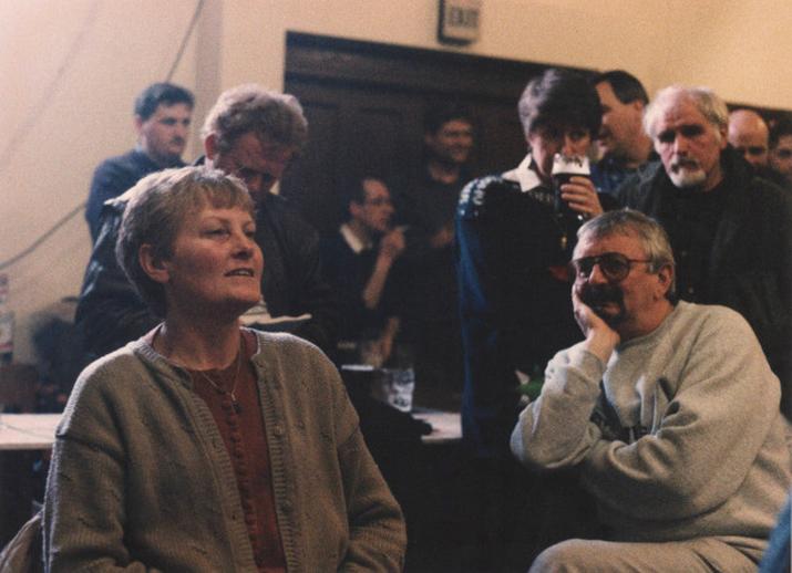 Treasa Ní Mhiolláin, singer, 1992 / Ken Garland