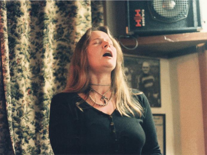 Jill Pidd, singer, 1995 / Ken Garland