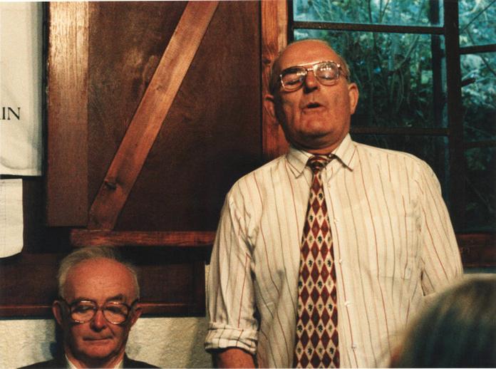 Mick Quinn, singer, 1997 / Ken Garland