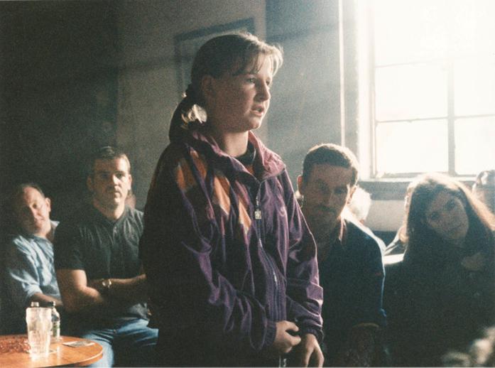 Unidentified, singer, 1995 / Ken Garland