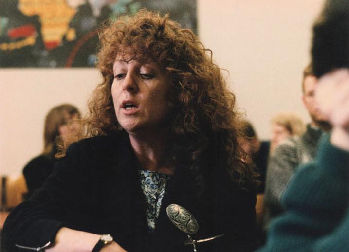 Patricia Flynn, singer, 1992 / Ken Garland