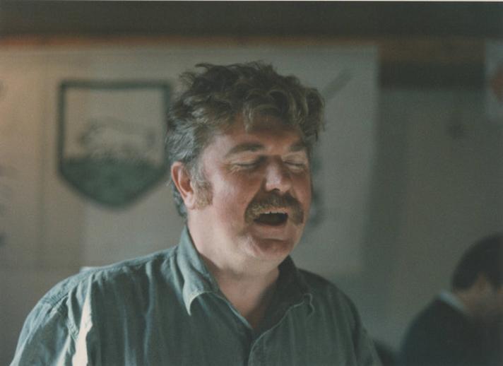 Joe Mulheron, singer, 1992 / Ken Garland