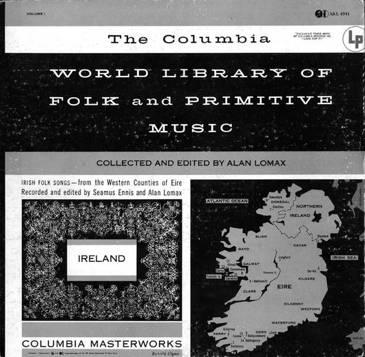 Irish folk songs, 1955 / designer Ronald Clyne