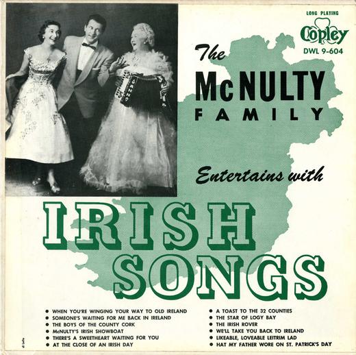 The McNulty family, 1958 / designer Di Lello
