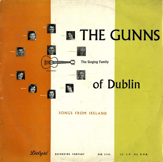 The Gunns of Dublin, 1958 / designer David Battle