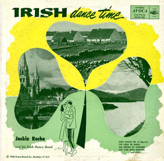 Irish dance time, 1958 / designer unidentified