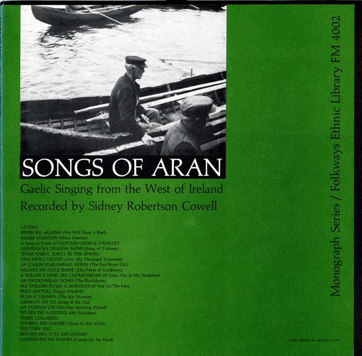 Songs of Aran, 1957 / designer Ronald Clyne