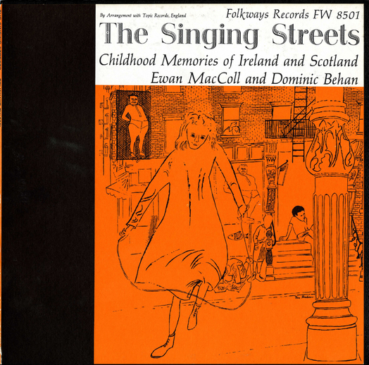 The singing streets, 1958 / designer unidentified