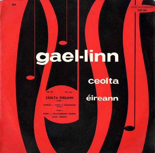 Ceolta Éireann, 1958 / designer unidentified