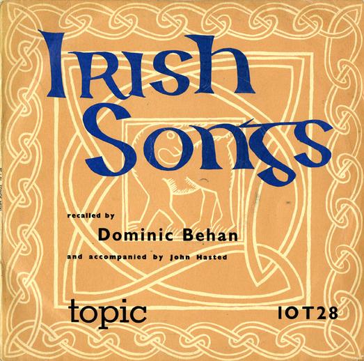 Irish songs, 1958 / designer Gloria Leader