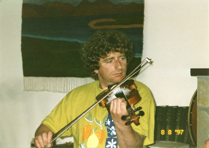 Martin McGinley, fiddle, 1997 / Mark Jolley
