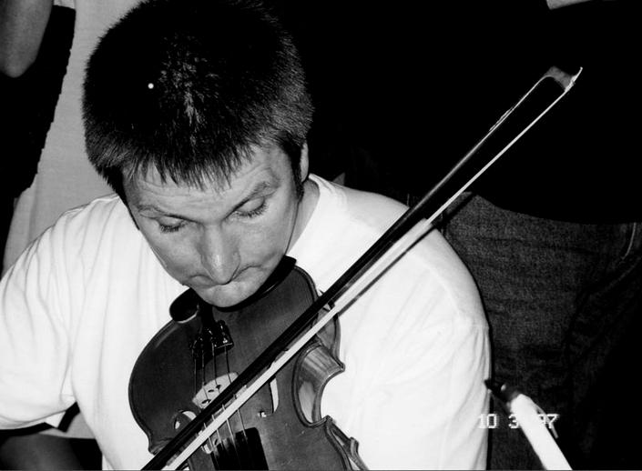 Dermot McLaughlin, fiddle, 1997 / Mark Jolley
