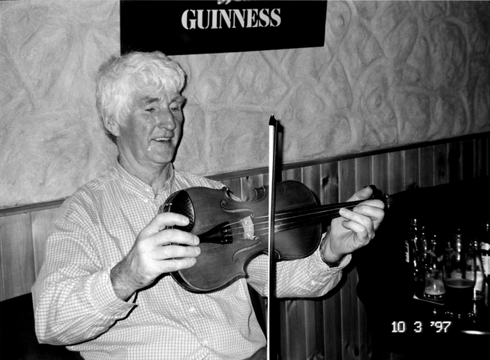 Jimmy Campbell, fiddle, 1997 / Mark Jolley