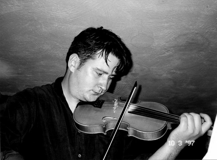 Peter Campbell, fiddle, 1997 / Mark Jolley