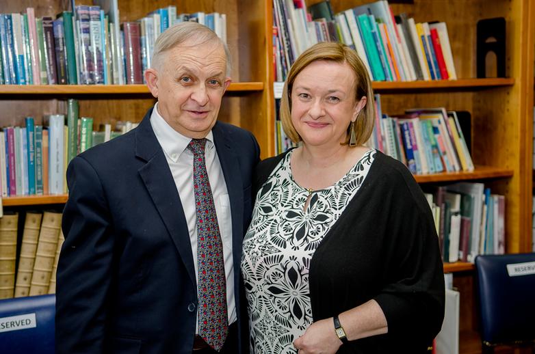 Nicholas Carolan and Grace Toland / Dónal Glackin