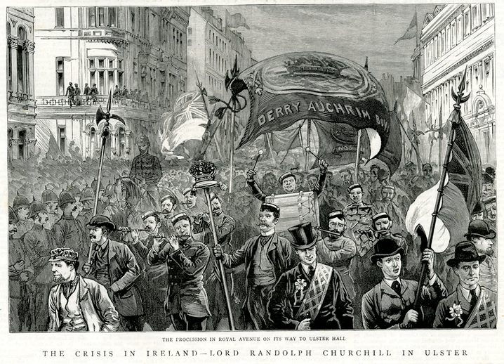 The crisis in Ireland, 1886 / [unidentified artist]