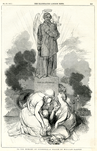 To the memory of O'Connell, 1847 / William Harvey