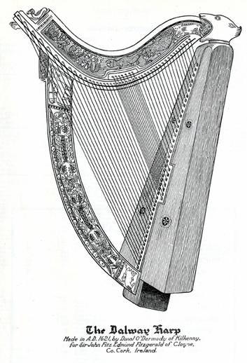 Dalway harp / unidentified artist