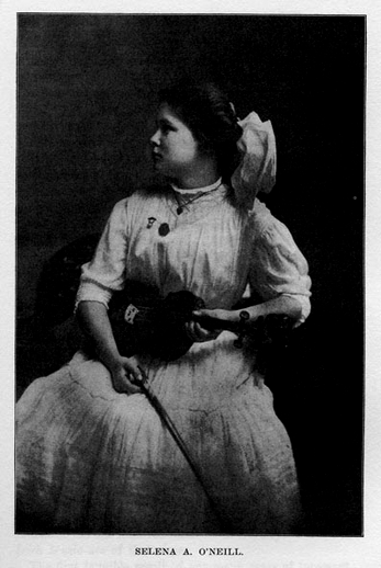 Selena A. O'Neill, fiddle / unidentified photographer