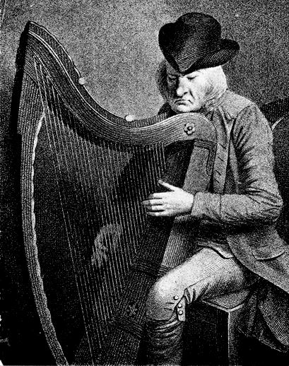 Denis O'Hempsey, harp / unidentified artist