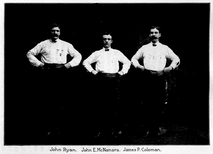John Ryan, dancer, & others / unidentified photographer