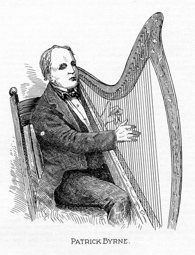 Patrick Byrne, harp / unidentified artist