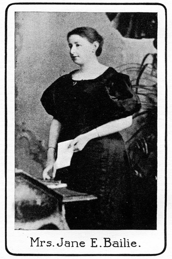 Jane E. Bailie / unidentified photographer