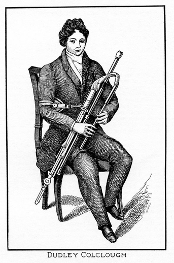 Dudley Colclough, uilleann pipes / unidentified artist