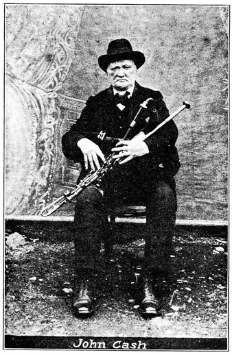 John Cash, uilleann pipes / unidentified photographer