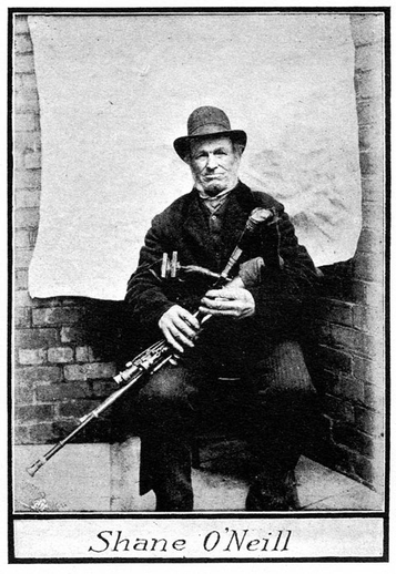 Shane O'Neill, uilleann pipes / unidentified photographer