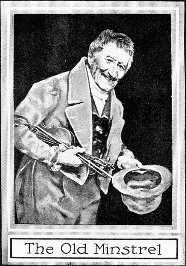 The old minstrel, fiddle / unidentified artist