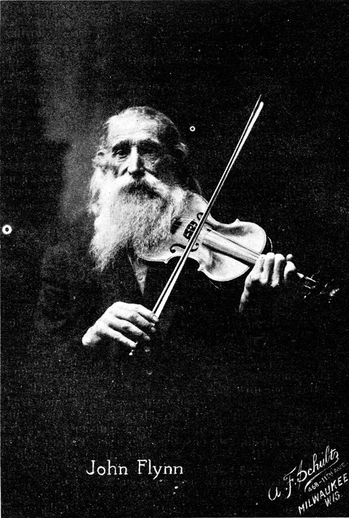 John Flynn, fiddle / unidentified photographer