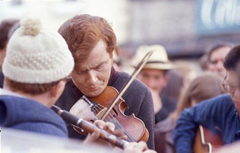 Unidentified, flute, & others, 1969 / Pádraig Ó Mathúna