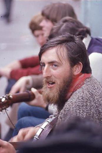 Unidentified, guitar, & others, 1958 / Pádraig Ó Mathúna