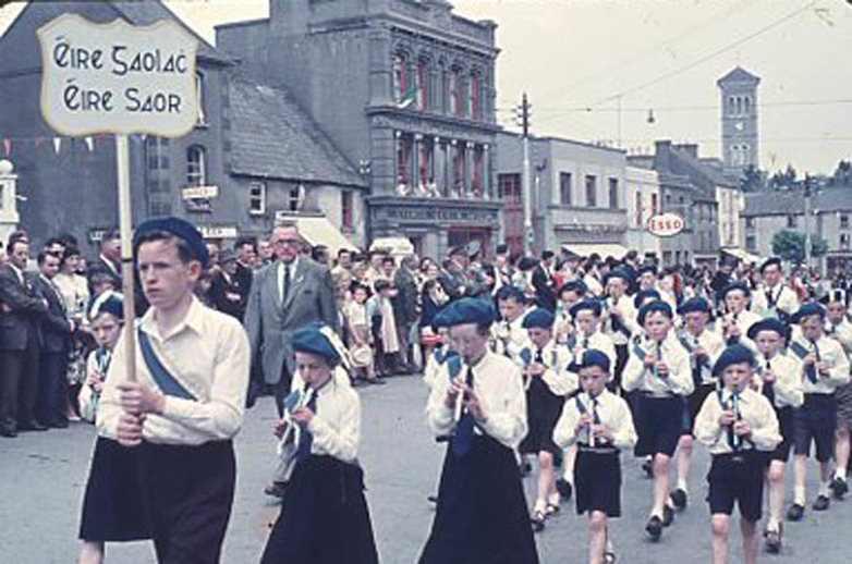 Band of the Ceárd Scoil, Cappawhite, Co. Tipperary, 1959 / Pádraig Ó Mathúna