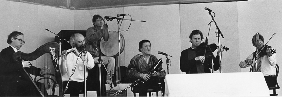 The Chieftains [photograph] / [unidentified photographer]