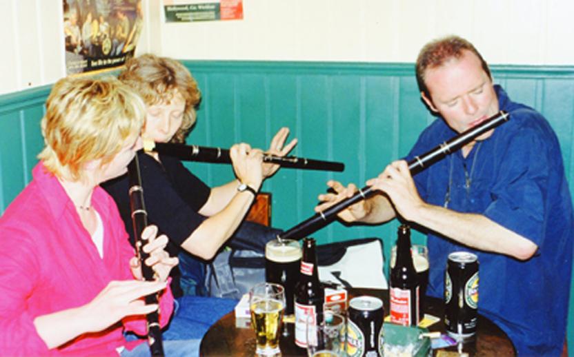 Geraldine McNamara, Tara Diamond and Conal Ó Gráda, flutes / Orla Henihan