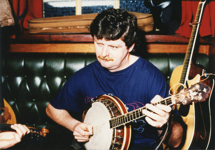 Unidentified, banjo / Brian Lynch