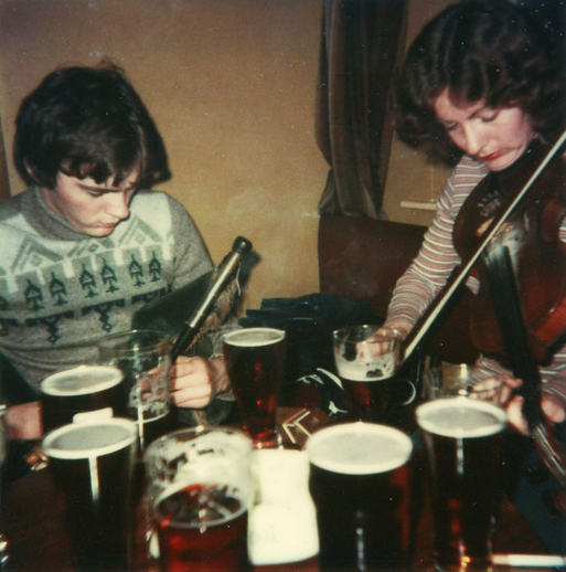 Gay McKeon, pipes, and Mary Corcoran, fiddle / [unidentified photographer]