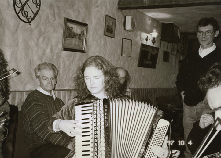 Mary Crowley, piano accordion / Mark Jolley