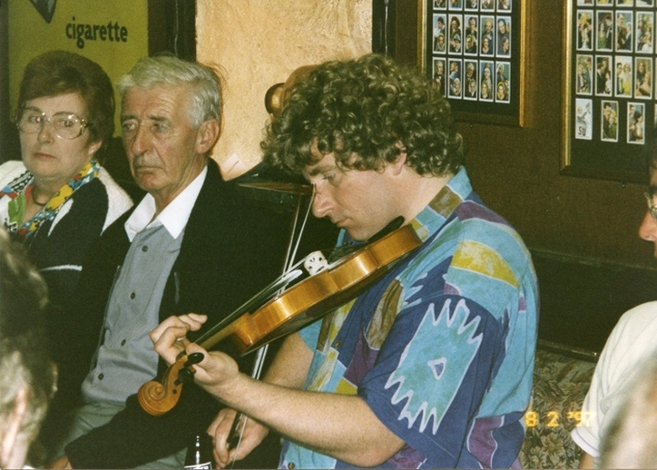 Martin McGinley, fiddle / Mark Jolley