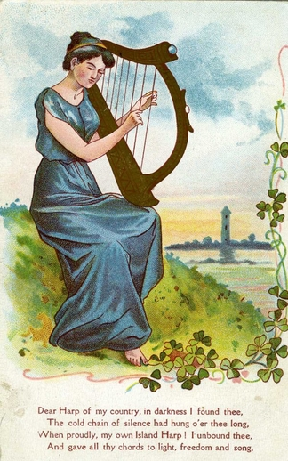 Dear harp of my country / unidentified artist
