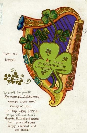 Lest we forget = Ar eagla go ndéanfaimis dearmad / unidentified artist