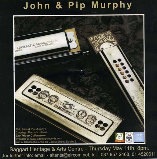 John Murphy, harmonica, & others, CD promotional poster