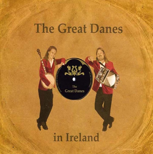 The Great Danes, group, CD promotional poster